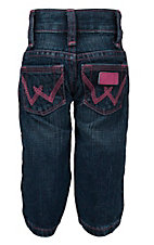 Wrangler All Around Baby Girl's Pink Sizes: 6M-4T