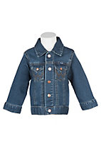 Wrangler Boys Denim Snap Jacket