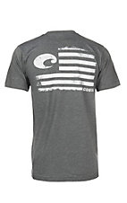 Costa Blended Heather Charcoal Pride S/S T-Shirt