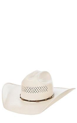 Cavender's 10X Ivory Straw Cowboy Hat