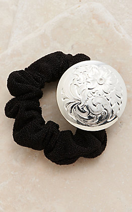 Montana Silversmiths Classic Small Concho Hair Tie