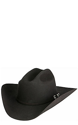 Resistol 6X George Strait City Limits Black Felt Cowboy Hat