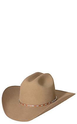 Resistol 6X George Strait Silver Eagle Chestnut Felt Cowboy Hat