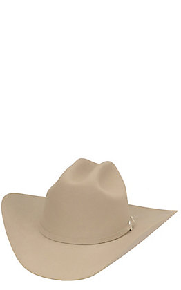 Resistol 6X Wilderness Silverbelly Felt Cowboy Hat
