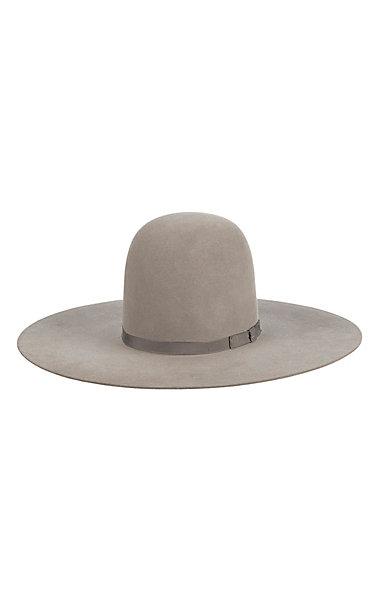 de2ed9b2a6fb4 Resistol 7X Stone Showdown Open Crown Felt Cowboy Hat  7GgSi1109773 ...