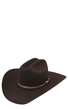 Resistol 6X George Strait Kingman Chocolate Felt Cowboy Hat