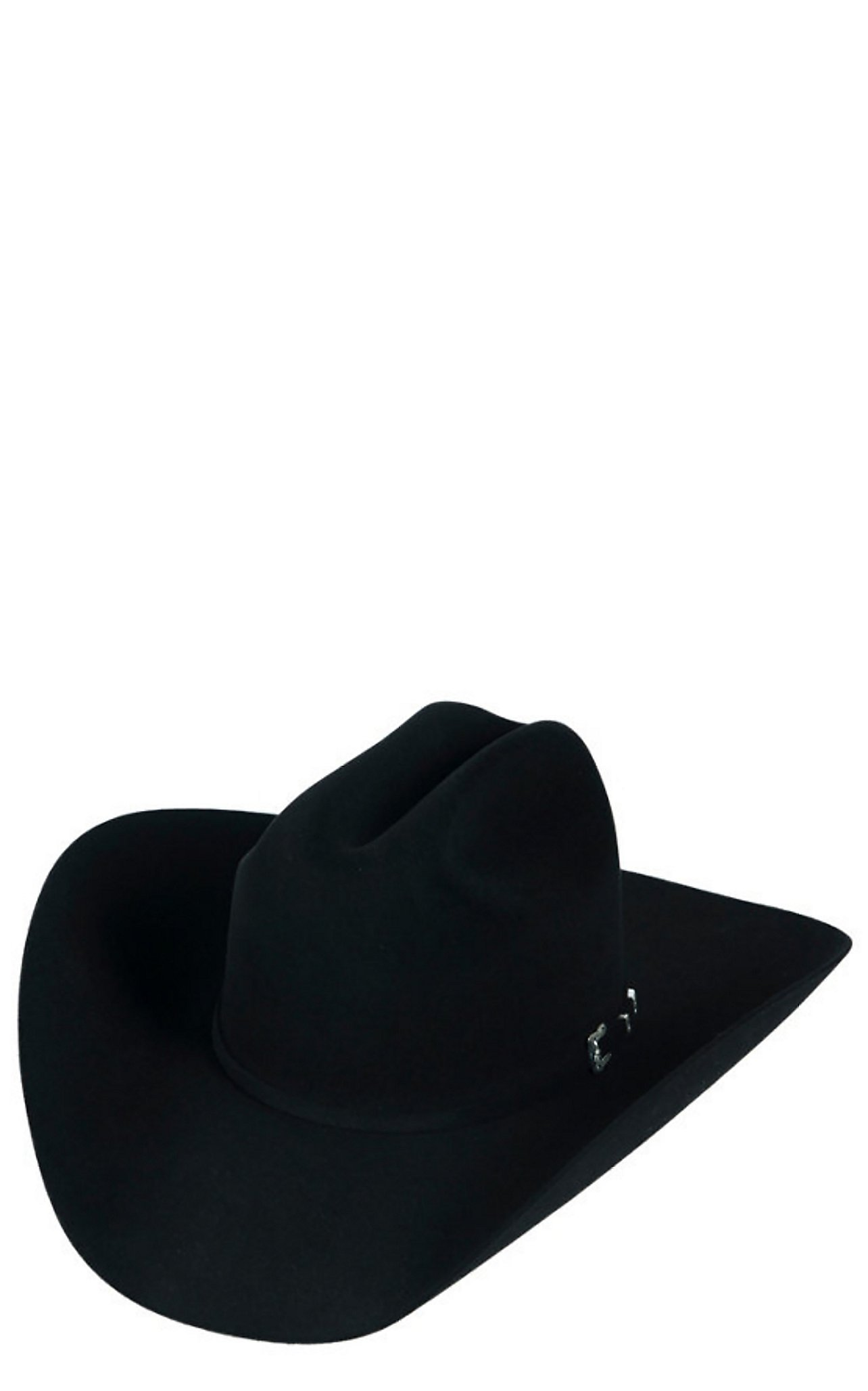 56649bf39b5 Resistol 6X Wilderness Black Felt Cowboy Hat