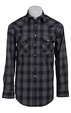 Panhandle Rough Stock Men's L/S Western Snap Shirt R0F9118