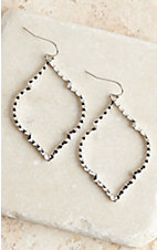 Silver Outline Earrings