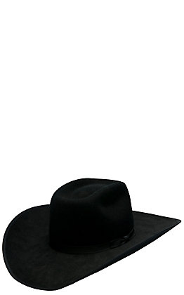 c66279b75bb167 Resistol Kids Holt Jr. Black Felt Cowboy Hat | Cavender's