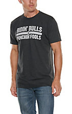 Rodeo Time Dale Brisby Men's Ridin Bulls and Punchin Fools T-Shirt