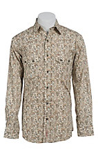 Rafter C Cowboy Collection Men's L/S Western Snap Shirt RC1440203