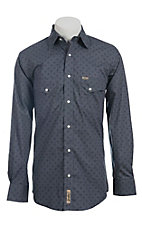 Rafter C Cowboy Collection Men's L/S Western Snap Shirt RC1440701