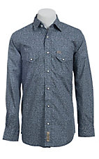 Rafter C Cowboy Collection Men's L/S Western Snap Shirt  RC1440703