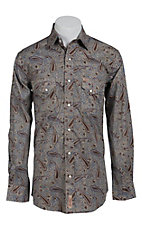 Rafter C Cowboy Collection Men's L/S Western Snap Shirt RC1440706