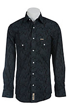 Rafter C Cowboy Collection Men's L/S Western Snap Shirt RC1440707
