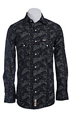 Rafter C Cowboy Collection Men's L/S Western Snap Shirt RC1440712