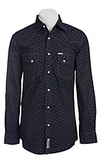 Rafter C Cowboy Collection Men's L/S Western Snap Shirt RC1441108