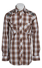 Rafter C Cowboy Collection Men's L/S Western Snap Shirt RC1441302
