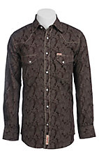 Rafter C Cowboy Collection Men's L/S Western Snap Shirt RC1441303