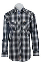 Rafter C Cowboy Collection Men's L/S Western Snap Shirt RC1441306