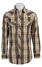 Rafter C Cowboy Collection Men's L/S Western Snap Shirt  RC1441408