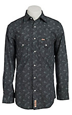 Rafter C Cowboy Collection Men's L/S Western Snap Shirt RC1510701