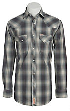 Rafter C Cowboy Collection Men's L/S Western Snap Shirt RC1511402