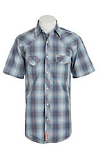 Rafter C Cowboy Collection Men's S/S Western Snap Shirt RC1511404