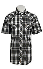 Rafter C Cowboy Collection Men's S/S Western Snap Shirt RC1511405