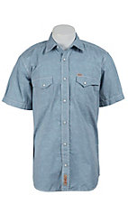 Rafter C Cowboy Collection Men's S/S Western Snap Shirt RC1511410