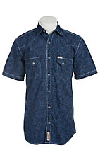 Rafter C Cowboy Collection Men's S/S Western Snap Shirt RC1511411