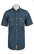 Rafter C Cowboy Collection Men's S/S Western Snap Shirt RC1511501