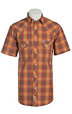 Rafter C Cowboy Collection Men's S/S Western Snap Shirt RC1511603