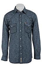 Rafter C Cowboy Collection Men's L/S Western Snap Shirt RC1511702