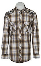 Rafter C Cowboy Collection Men's L/S Western Snap Shirt RC1511901