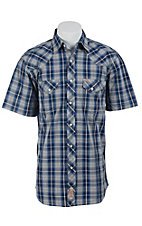 Rafter C Cowboy Collection Men's S/S Western Snap Shirt RC1520902