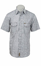 Rafter C Cowboy Collection Men's S/S Western Snap Shirt RC1520905