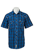 Rafter C Cowboy Collection Men's S/S Western Snap Shirt RC1521301