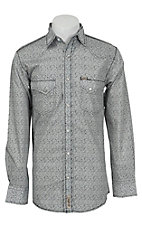 Rafter C Cowboy Collection Men's L/S Western Snap Shirt RC1521401
