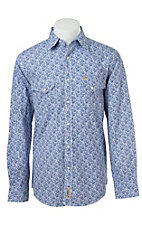 Rafter C Cowboy Collection Men's L/S Western Snap Shirt RC1521402