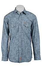 Rafter C Cowboy Collection Men's L/S Western Snap Shirt RC1521403