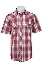 Rafter C Cowboy Collection Men's S/S Western Snap Shirt RC1521404