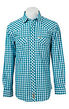 Rafter C Cowboy Collection Men's L/S Western Snap Shirt RC1521407