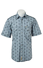 Rafter C Cowboy Collection Men's S/S Western Snap Shirt RC1521409