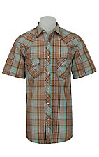 Rafter C Cowboy Collection Men's S/S Western Snap Shirt RC1521601