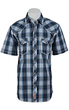 Rafter C Cowboy Collection Men's S/S Western Snap Shirt RC1521701