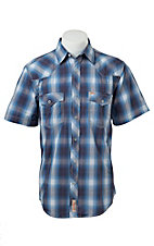 Rafter C Cowboy Collection Men's S/S Western Snap Shirt RC1521702