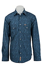 Rafter C Cowboy Collection Men's L/S Western Snap Shirt RC1531302