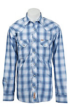 Rafter C Cowboy Collection Men's L/S Western Snap Shirt RC1531401